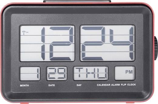 Rádiójel vezérelt ébresztőóra lapozódó számokkal, Renkforce A531