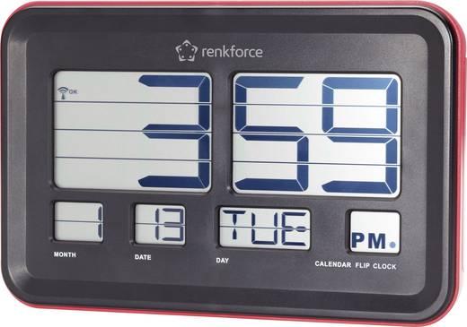 Rádiójel vezérelt falióra lapozódó számokkal, Renkforce A541