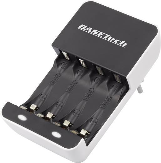 Akkutöltő, ceruza (AA) és mikroceruza (AAA) akkukhoz Basetech BTL-10