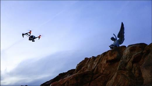 DJI Inspire 1 Quadrocopter RtF inkl. GPS-Funktion, inkl. Kamera mit 2er Fernsteuerungen