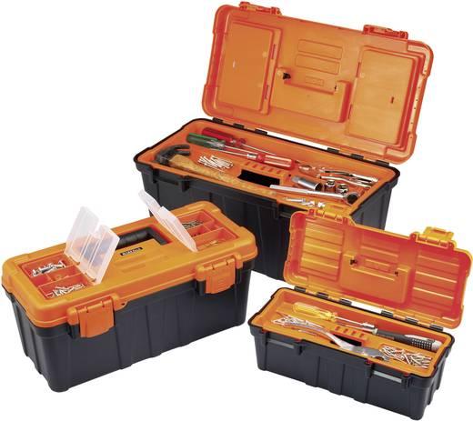 Szerszámosláda 3 részes készlet, kivehető rekeszekkel, Basetech