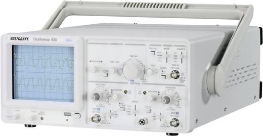 Analóg oszcilloszkóp 30mHz, Voltcraft 630-2