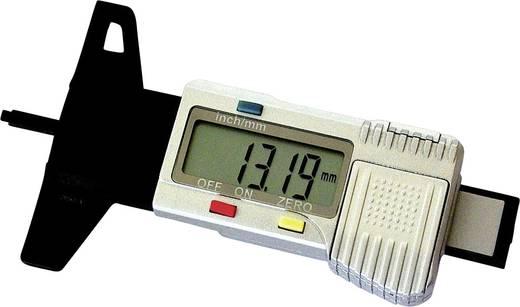 Gumiabroncs profilmélység mérő, digitális kijelzővel Kunzer 7DP01