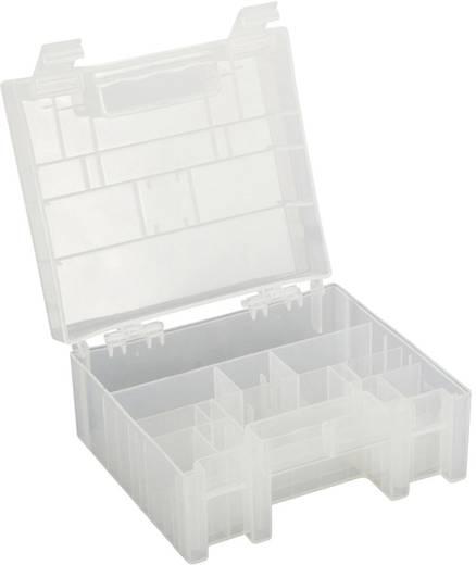 Elemtartó doboz, 14 db mikro, 12 db ceruza, 4 db baby, és 1 db 9V-os elem tárolására