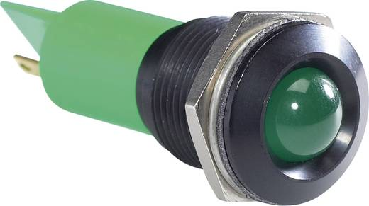 LED-es jelzőlámpa, Fehér 24 V/DC APEM Q16P1BXXW24E