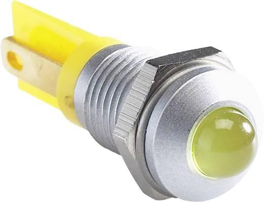 LED-es jelzőlámpa, Piros 12 V/DC APEM Q8P1CXXR12E