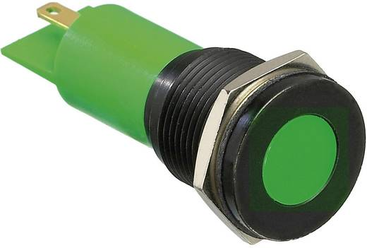 LED-es jelzőlámpa, Zöld 12 V/DC APEM Q16F1BXXG12E