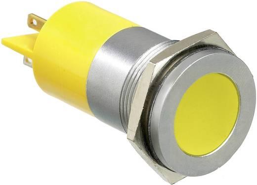 LED-es jelzőlámpa, Piros 12 V/DC APEM Q22F1CXXR12E