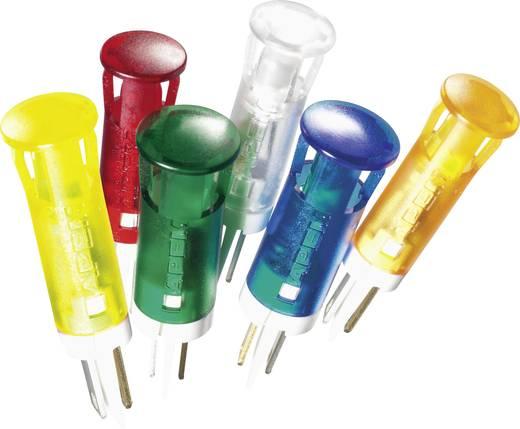 LED-es jelzőlámpa, Piros 12 V/DC APEM QS81XXR12