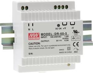 Mean Well DR-60-12 Kalapsínes tápegység 12 V/DC 4.5 A 54 W 1 x Mean Well