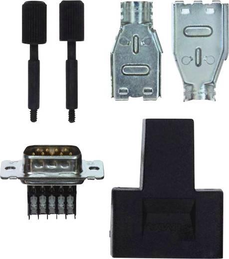D-SUB tűs kapocsléc, pólusszám: 9 2 soros TE Connectivity AMPLIMITE HD-20 (HDE-20)