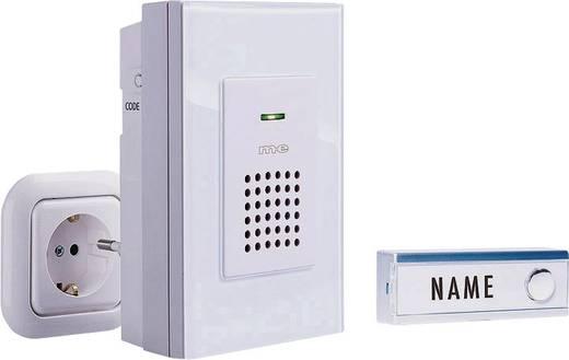 Vezeték nélküli csengő készlet névtáblával, m-e modern-electronics 40733