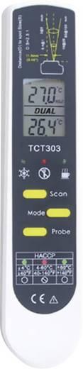 HACCP Infra hőmérő, távhőmérő és ételhőmérő beszúró érzékelővel 2:1 optikával -55-től +250 °C-ig TFA 31.1119.K
