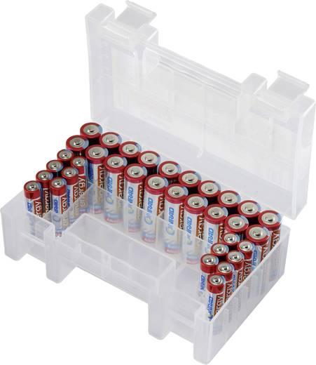 Alkáli elemkészlet dobozban 14xAAA, 20xAA, Conrad Energy Extreme Power