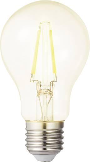 LED izzó, körte forma, 106 mm 230 V E27 4 W = 40 W melegfehér A++, sygonix