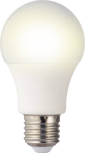 LED izzó, körte forma, 106 mm 230 V E27 11 W = 75 W melegfehér A+, sygonix