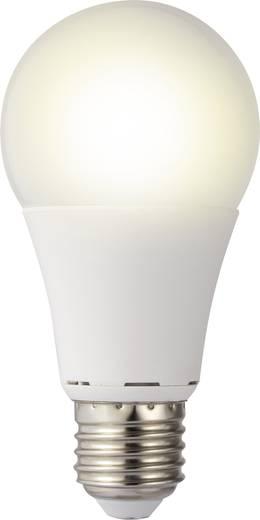 LED izzó, körte forma, 119 mm 230 V E27 9,5 W = 60 W melegfehér A+, sygonix 9283c82a
