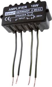 Kemo M033N erősítő modul, 18W (M033N) Kemo