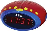 Rádiós ébresztőóra LED kijelzővel, piros-kék színben AEG MRC 4143 Kids Line (400617) AEG