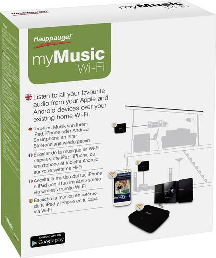 WiFi-s streaming audio lejátszó Hauppauge myMusic Wi-Fi 01524