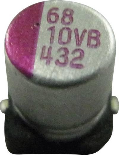 Elektrolit kondenzátor SMD 820 µF 6.3 V/DC 10 % (Ø x Ma) 8 mm x 10.4 mm PVB827M6R3S0ANGA6K 1 db