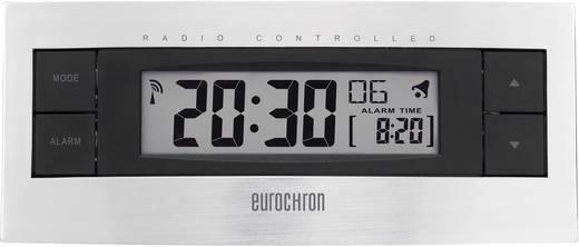 Rádiójel vezérelt ébresztőóra, ezüst/fekete, Eurochron EFW 2000