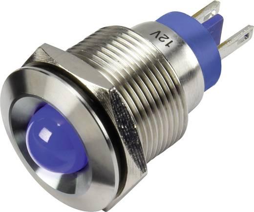 LED-es jelzőlámpa, Kék 12 V GQ19B-D/J/B/12V/S
