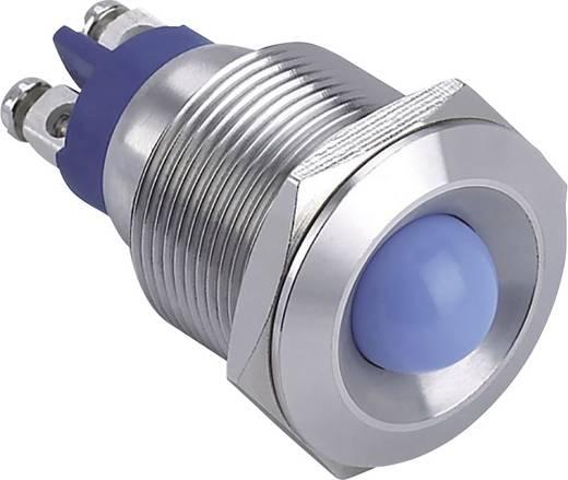 LED-es jelzőlámpa, Fehér 12 V GQ19B-D/W/12V/S