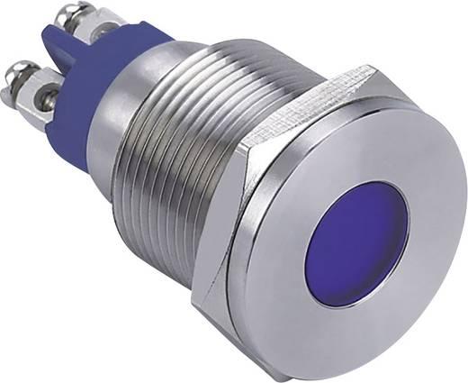 LED-es jelzőlámpa, Fehér 12 V GQ19F-D/W/12V/S