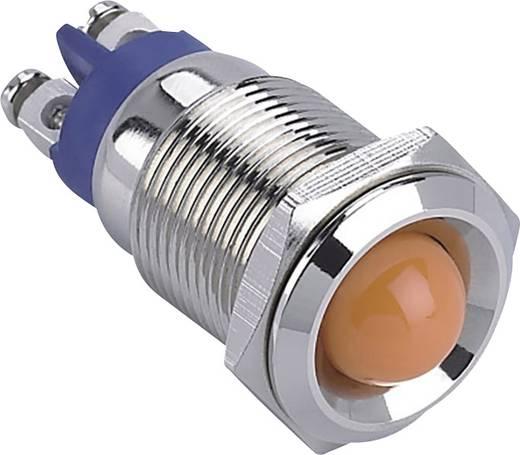 LED-es jelzőlámpa, Piros 12 V GQ16B-D/R/12V/N