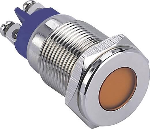LED-es jelzőlámpa, Piros 12 V GQ16F-D/R/12V/N