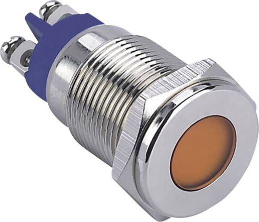 LED-es jelzőlámpa, Zöld 12 V GQ16F-D/G/12V/N