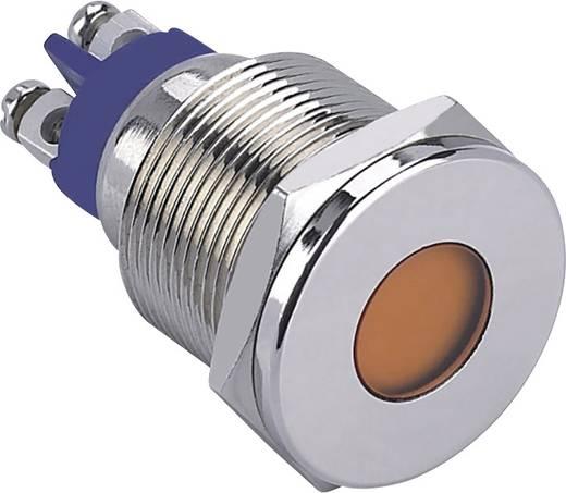 LED-es jelzőlámpa, Piros 12 V GQ19F-D/R/12V/N