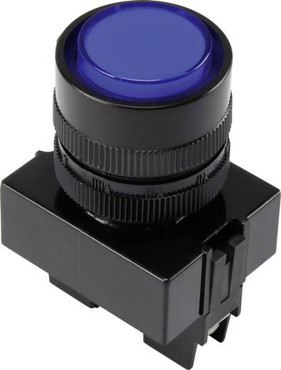 LED-es jelzőlámpa, Kék 12 V Y090E-DS/B/12V