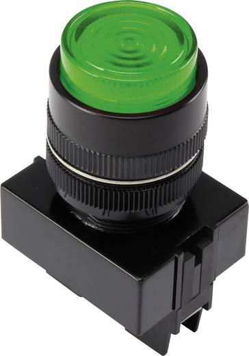 LED-es jelzőlámpa, Zöld 12 V Y090E-D/G/12V