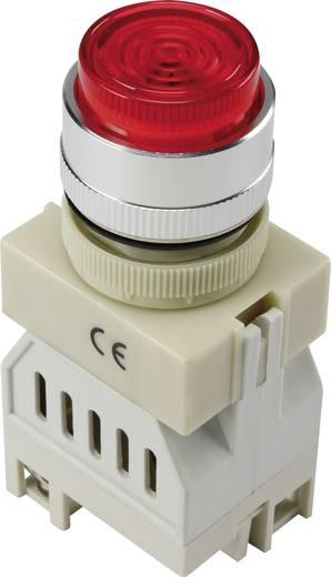 LED-es jelzőlámpa, Piros 24 V Y090-S/24V