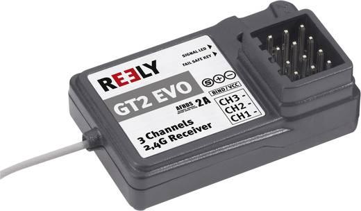 3 csatornás vevő 2.4 GHz, JR dugasz, Reely