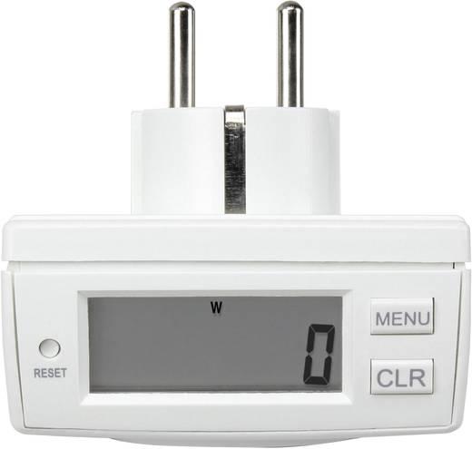 Energiafogyasztás mérő, LCD 0,00-9999,99 kWh, Basetech Energy Monitor 2000