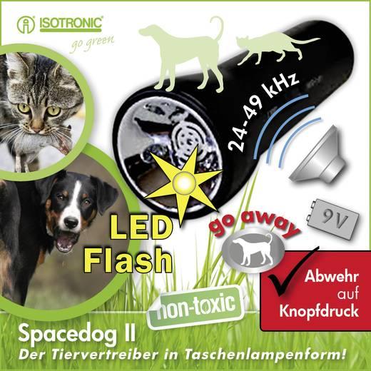 Hordozható kutyariasztó, állat- és kártevőriasztó, Isotronic SpaceDog II70590