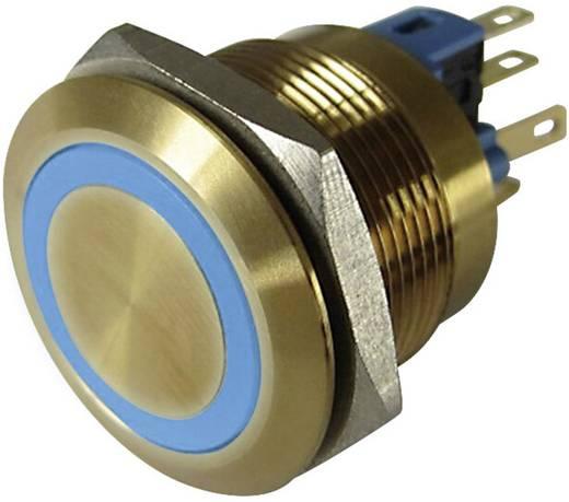 Vandálbiztos nyomógomb 250 V/AC 3 A 1 x KI/(BE) Conrad GQ22-11E/B/12V/G IP65