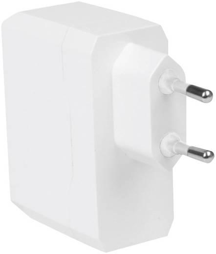 Hálózati USB töltő adapter, 2 USB aljzattal 115-230V/AC max.3400 mA LogiLink PA0094