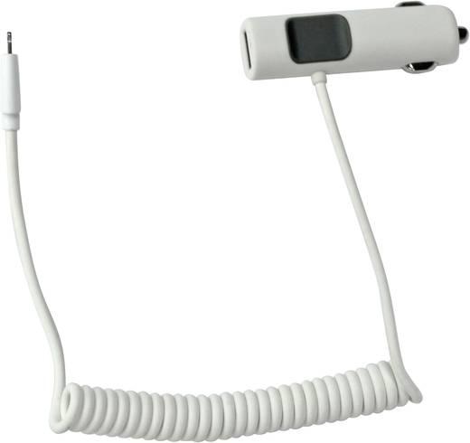 Szivargyújtós mikro USB töltő, 2db USB max. 3400mA LogiLink PA0104