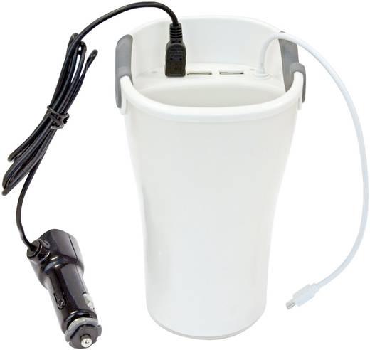 Szivargyújtós USB töltő, 3db USB max. 3100mA LogiLink PA0105