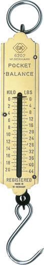 Akasztós mérleg (max.) 20 kg C.K. T6202 044