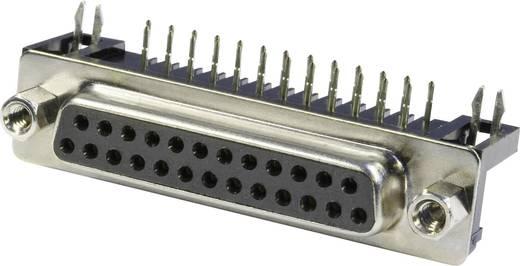 D-SUB hüvelyes kapocsléc 90 °, pólusszám: 25 forrcsúcs, econ connect BU25WB/7