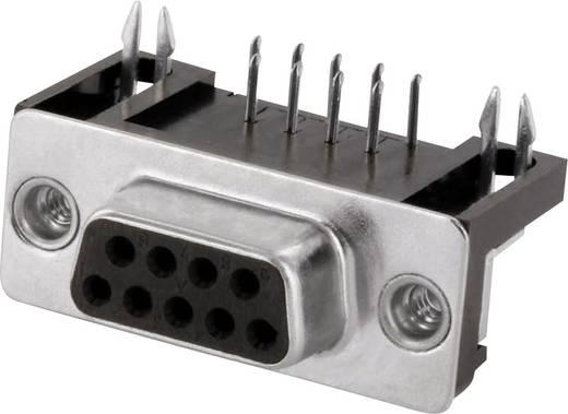 D-SUB hüvelyes kapocsléc 90 °, pólusszám: 15 forrcsúcs, econ connect BU15WB/9G