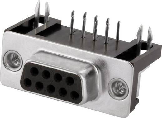 D-SUB hüvelyes kapocsléc 90 °, pólusszám: 9 forrcsúcs, econ connect BU9WB/9G