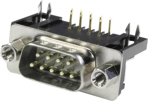 D-SUB tűs kapocsléc 90 °, pólusszám: 9 forrcsúcs, econ connect ST9WB/9
