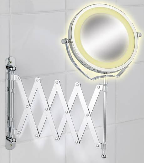 LED-es kozmetikai tükör, króm, Wenko 3656380500