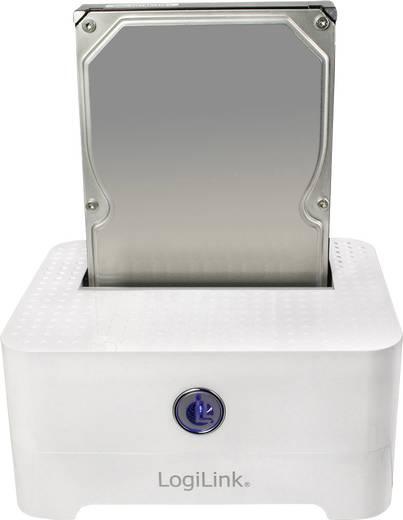 Merevlemez dokkoló, USB 2.0, SATA 1 port, LogiLink QP0015
